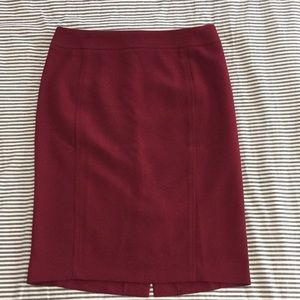 LOFT pencil scuba skirt